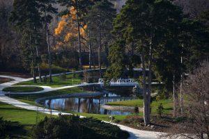 kastély park keszthely